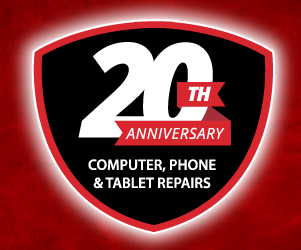 Celebrating 20 years of mobile and cell phone, computer, tablet repairs. iPhone, Android, Pixel. Mac and PC.