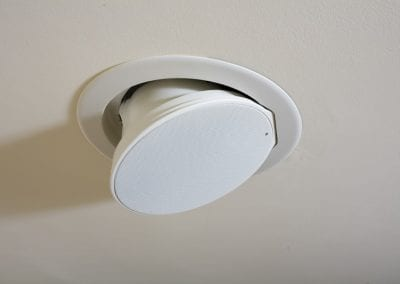 Directional In-Ceiling Speakers