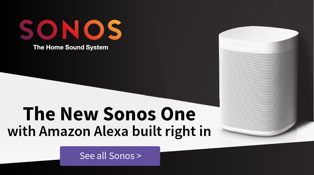 SONOS One with Amazon Alexa Wireless Speakers